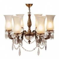 Kansa Lighting Maharaja Six Arm Chandelier