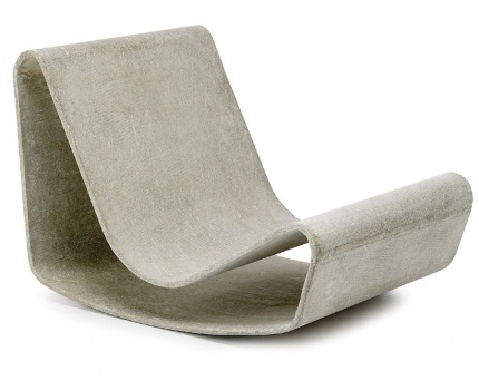 Willy Guhl: Loop Chair Modern Concrete Outdoor Garden Chair