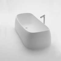 Agape Pear Freestanding Bathtub
