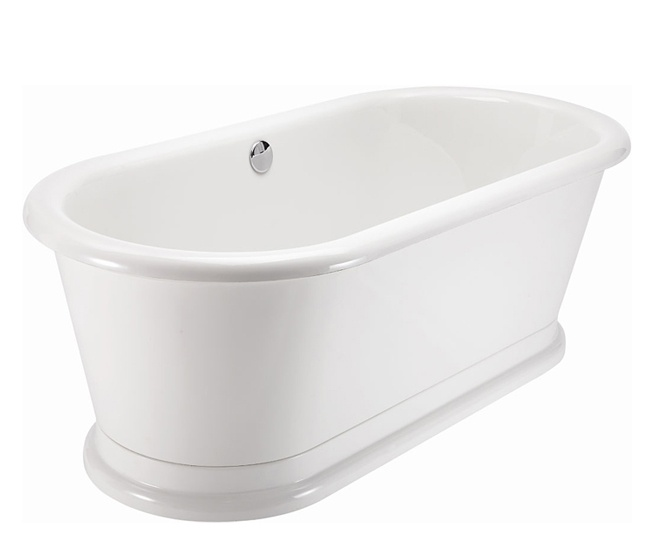 Burlington London Round Soaking Bathtub