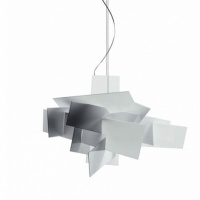 Foscarini Big Bang Suspension Light, White