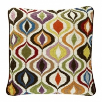 Bargello Multi Waves Cushion