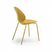 Calligaris Basil Dining Chair with Pole Legs