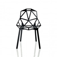 Chair One - Stackable, Black
