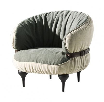 Diesel with Moroso Chubby Chic Armchair