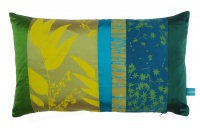 Heal's Eucalyptus Patchwork Cushion By Clarissa Hulse