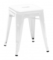 H Low Stool - Lacquered Steel - H 45 cm from Tolix