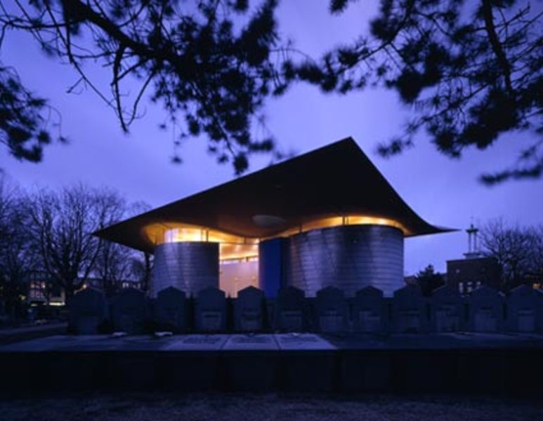 mecanoo.com --- project: <b>CHAPEL SAINT MARY</b> OF THE <b>ANGELS</b>, ROTTERDAM