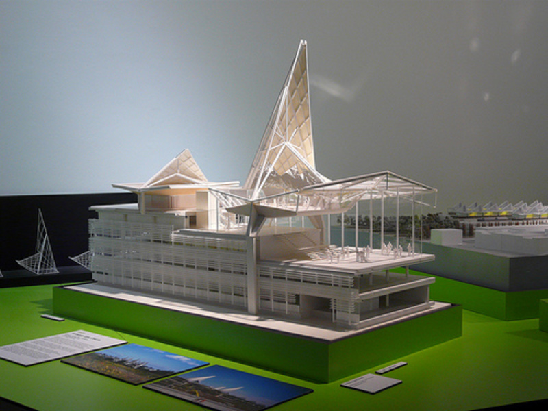 Antwerp Law Courts Model, Richard Rogers + Architects Exhibition, Design Museum