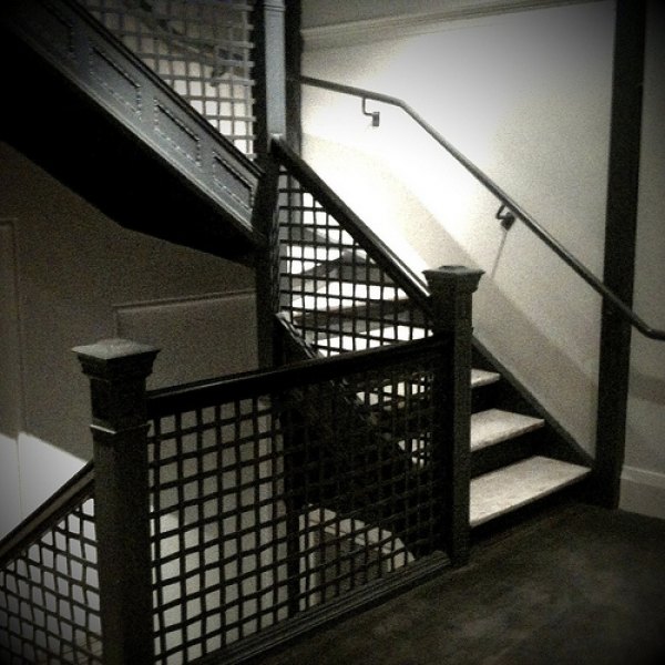 Ames Hotel Stairway