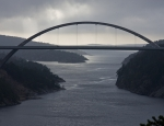 The new Svinesund bridge, Sweden - Norway
