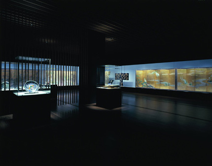 <b>Museum</b> Interior of the <b>Suntory Art Museum</b> in Japan