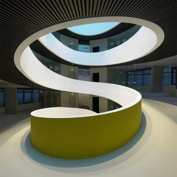 Architecture of <b>Cocoon</b> Exclusive <b>Office</b> Headquarter by Camenzind <b>...</b>