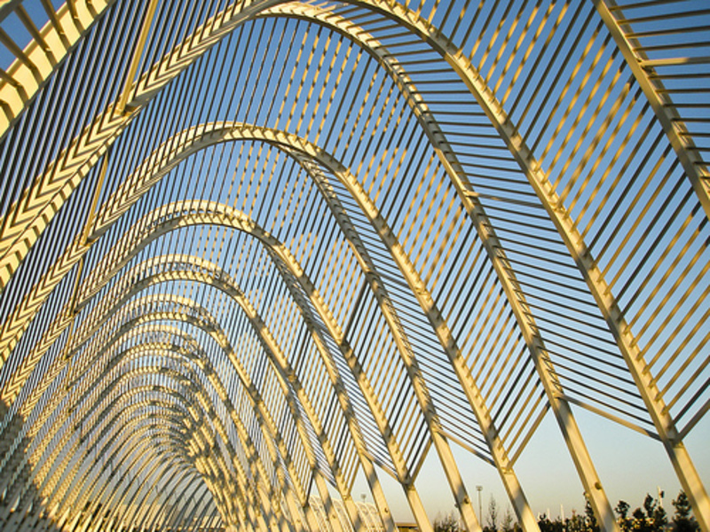 Athens Olympic Sports Complex, Calatrava token shot 2