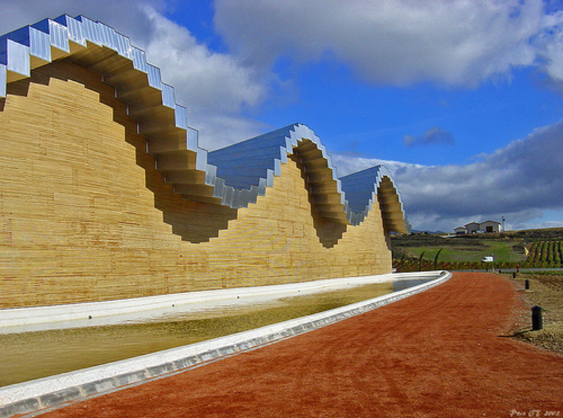 &lt;b&gt;Bodegas Ysios&lt;/b&gt; winery complex designed by Santiago Calatrava &lt;b&gt;...&lt;/b&gt;