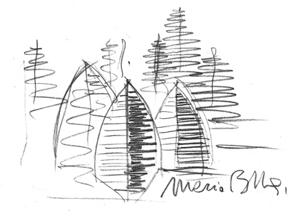 Arosa sketch by Mario Botta