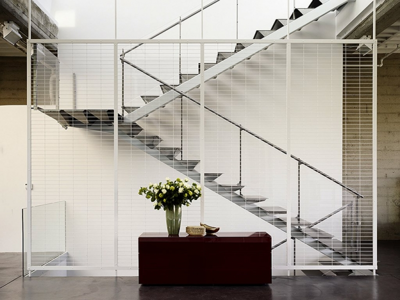 staircase to penthouse