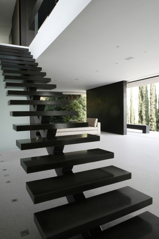 Steel-Concrete Stair